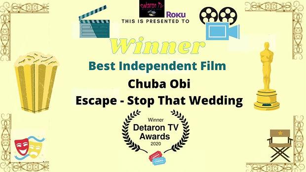 Detaron TV Best Independent Film 2020