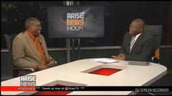 Chuba Obi at Arise TV Studios