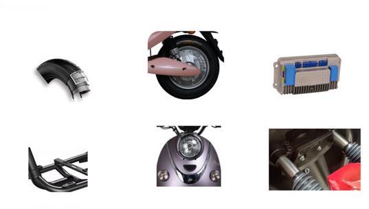 JL E MOTORCYCLE-Migo light Edition 60V(1