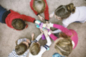 Top View of Kids Playing