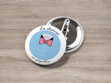 Logo - La chemise en papillon