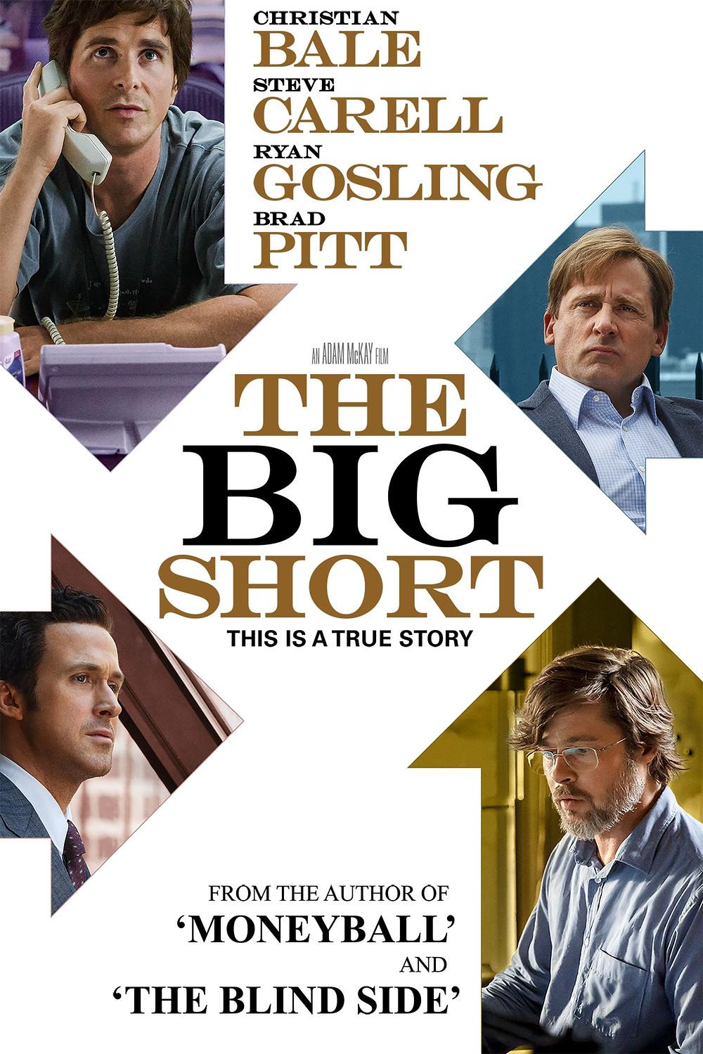 The big short movie poster. The big short movie explanation