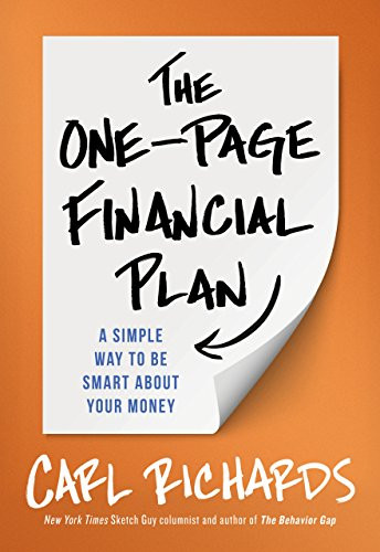 Book cover: The One-Page Financial Plan by Carl Richards