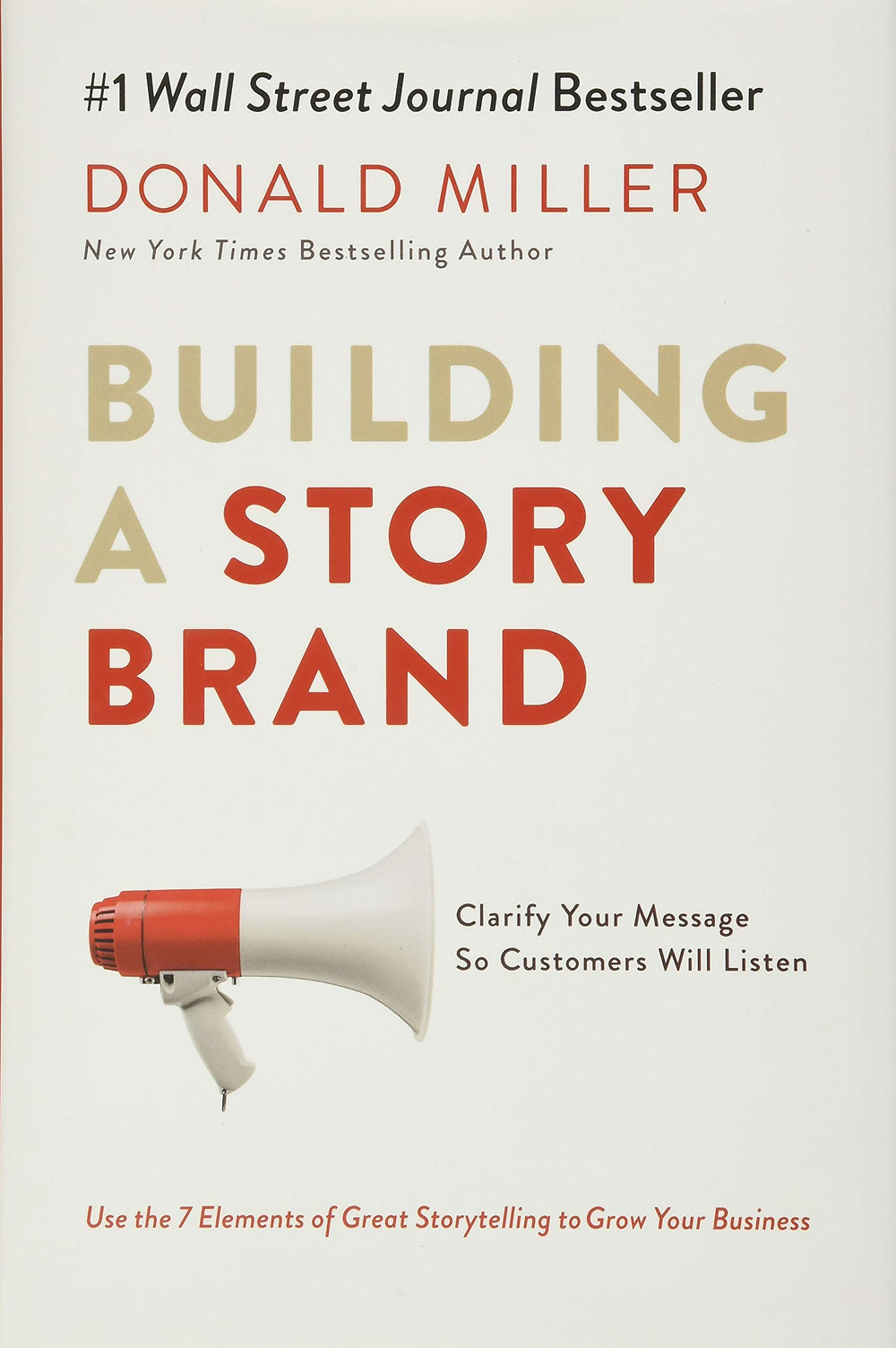 Book Cover: Building A StoryBrand