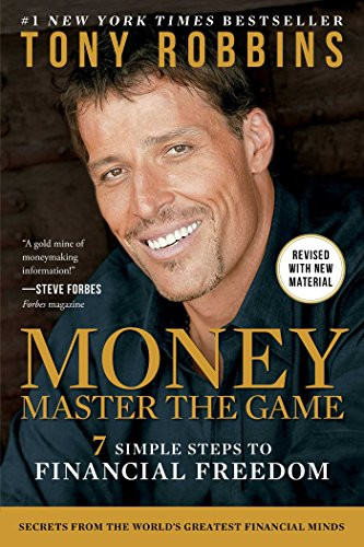Book cover: MONEY Master the Game by Tony Robbins