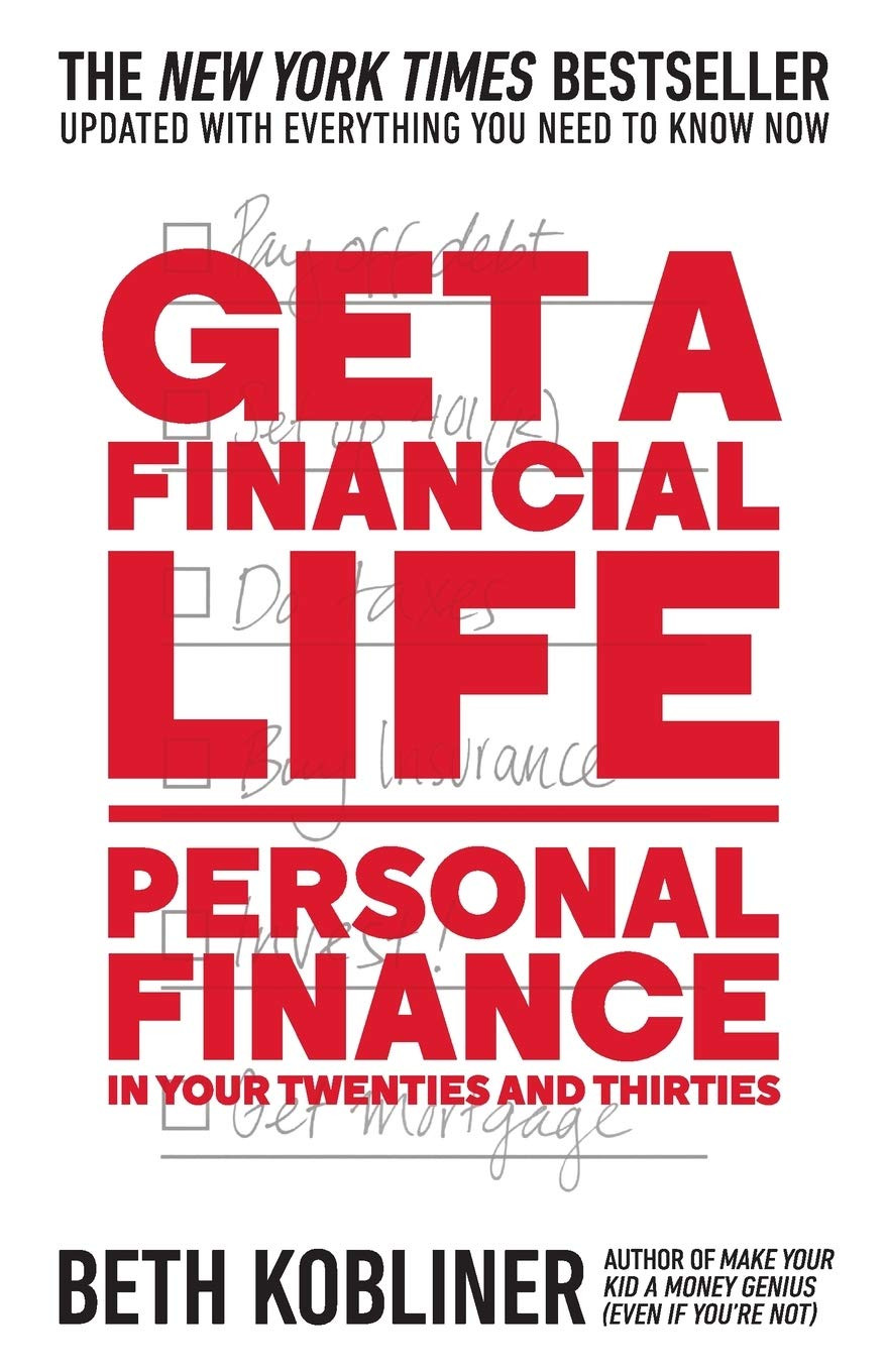 Book cover: Get a Financial Life by Beth Kobliner