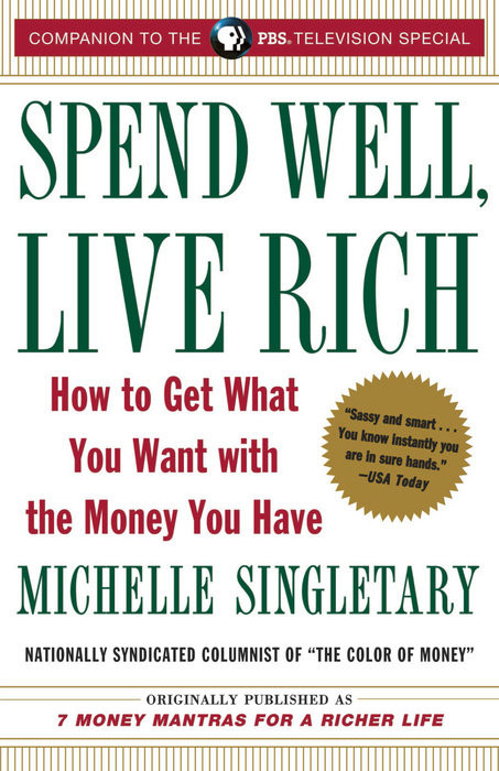 Book cover: Spend Well, Live Rich by Michelle Singletary