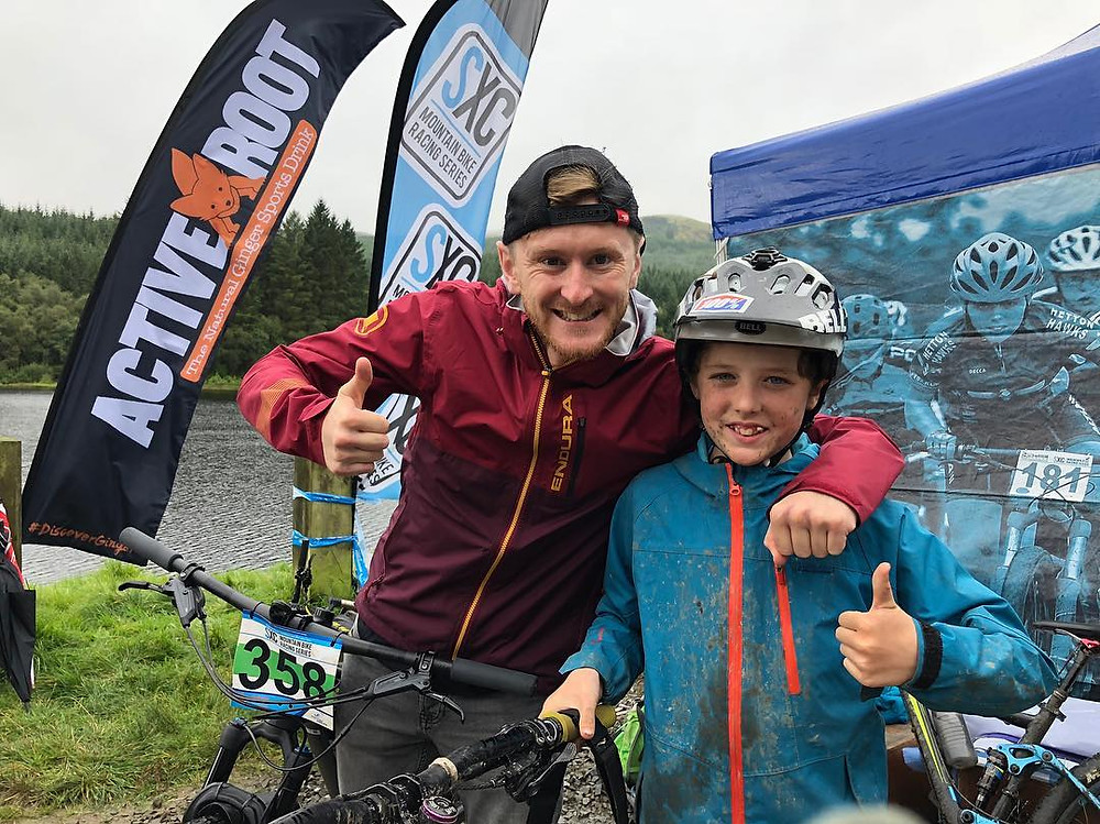 Thumbs up with local ripper Findlay
