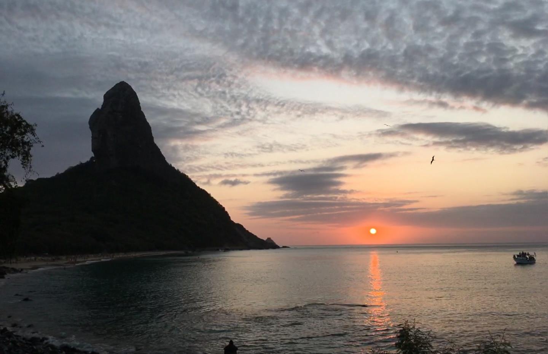 Pôr do Sol na Conceição.