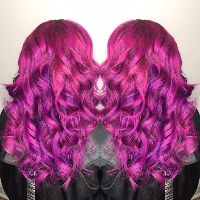 Vivid Hair Colours Application and up keep