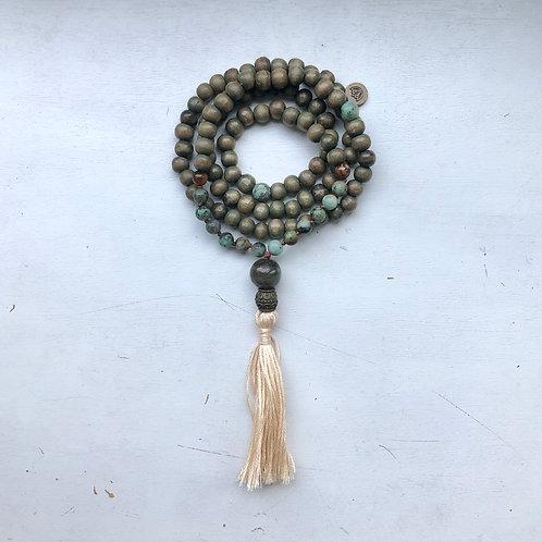 I Am Intuitive - Mala Necklace