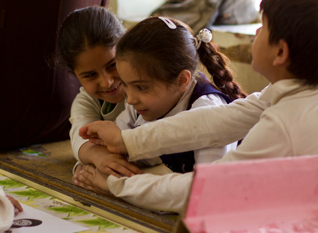 SBM Team Deliver Awareness Campaigns in 12 Baghdad Schools