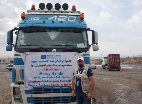 Delivering Emergency Aid to IDPs in Northeast Syria