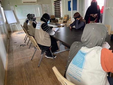 IDP Women in Ninewa Sew Masks to Aid in Anti-Covid-19 Effort