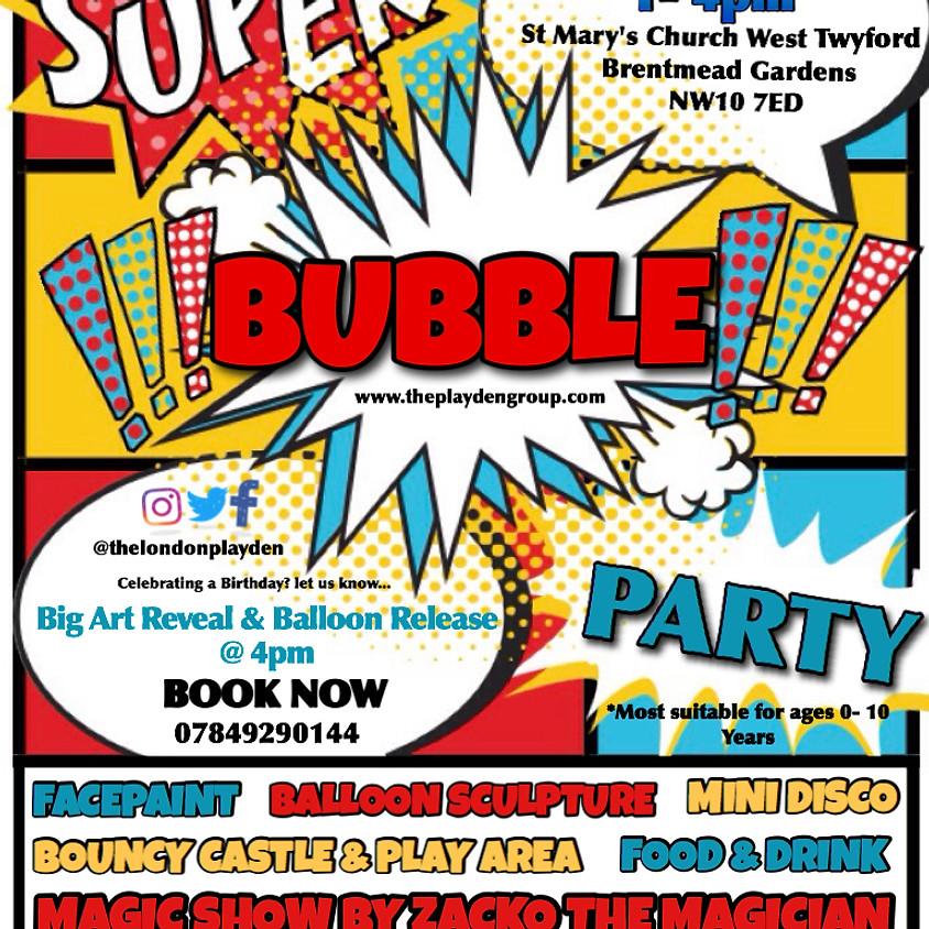 Super Bubble Party