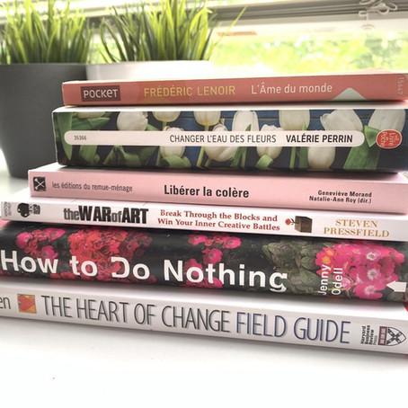 Des livres qui me révèlent et me transforment