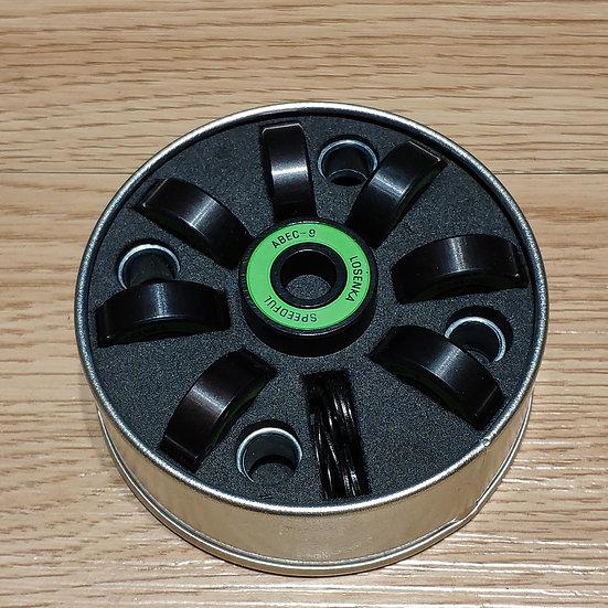 ABEC-9 高速鉻鋼輕油軸承