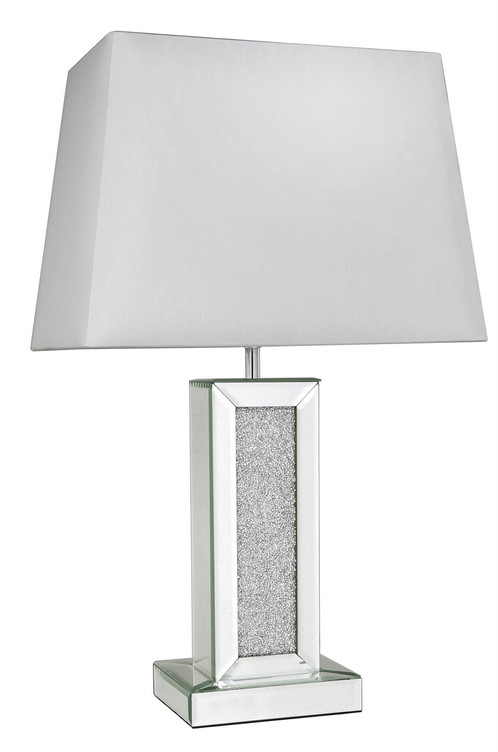 Mistique Mirror Table Lamp With Shade