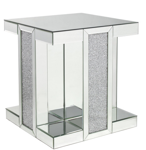 Glitzy Mirror End Table From Our Mystique Range. Stunning Piece Of  Furniture To Give Your Rrom That Wow Factor!