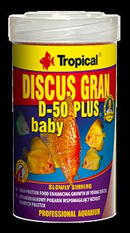 TROPICAL DISCUS GRAN D-50 PLUS BABY 4.59OZ