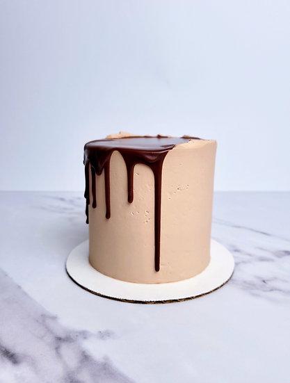 Chocolate Chocolate Chocolate Cake