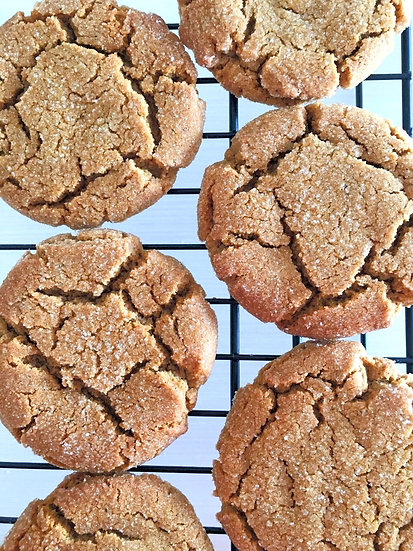 Chewy Ginger Molasses Cookies- 6 pack