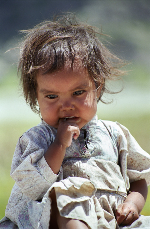 The Natives | Raramuri little girl