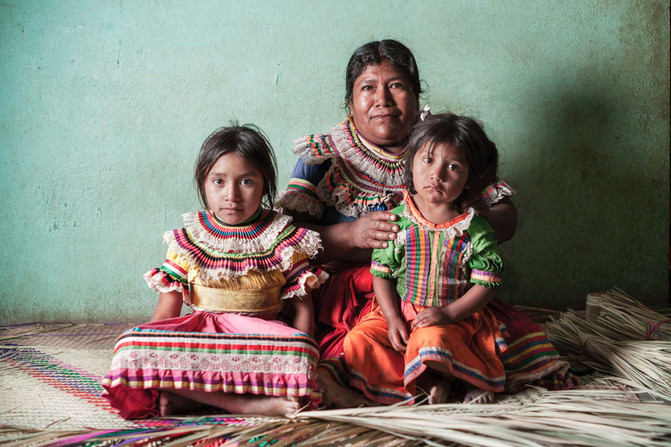 The Natives | Nahua woman and girls