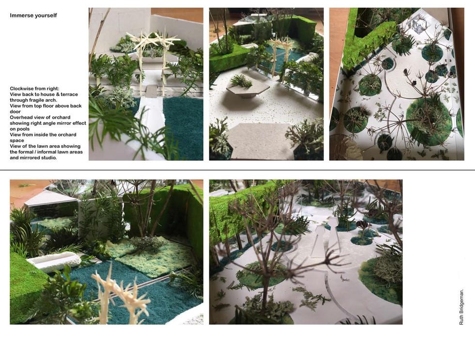 The writers garden model 1 Ruth Bridgema