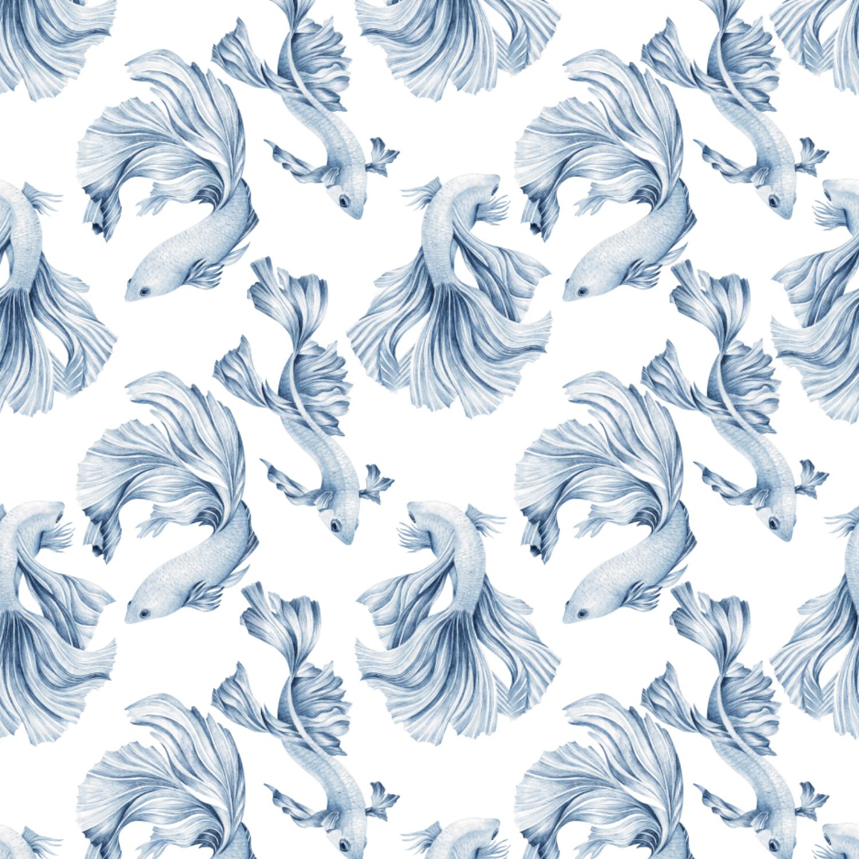 Delft Blue Fish
