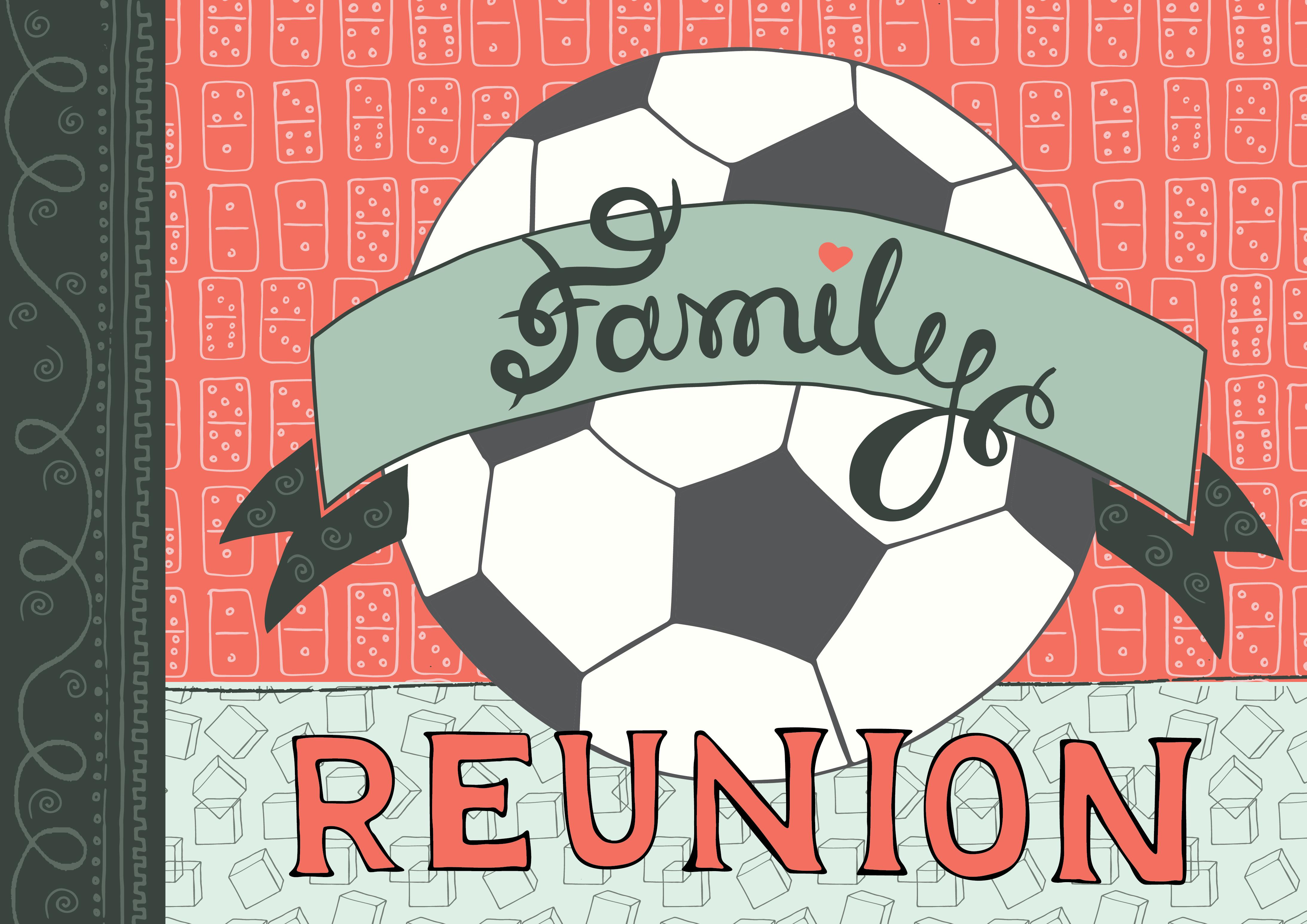 Family Reunion Illustration