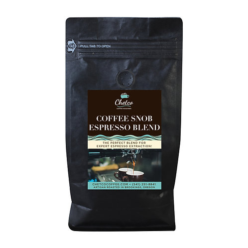 Coffee Snob Espresso Blend 5 lb Bag