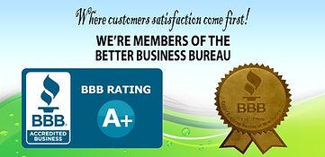 certificate of Better Business Bureau