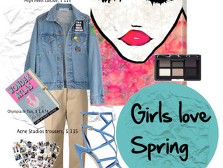 GIRLS LOVE SPRING