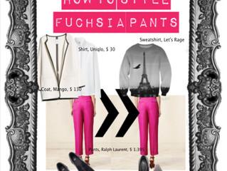 HOW TO STYLE FUCHSIA PANTS