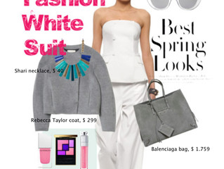 MUST TRY: MF FASHION WHITE SUIT