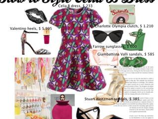 HOW TO STYLE CELIA B DRESS