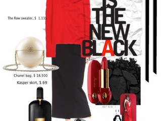 RED IS A NEW BLACK