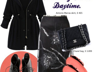 HOW TO STYLE AMAZING SKIRT. DAYTIME