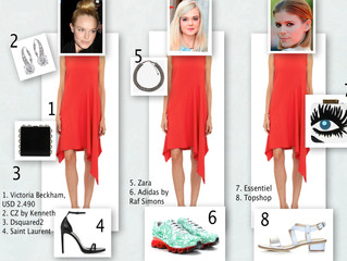 ONE DRESS THREE LOOKS