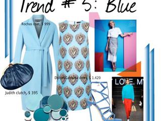 TREND # 5: BLUE