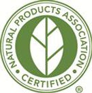 Natural Products Association Certified Badge