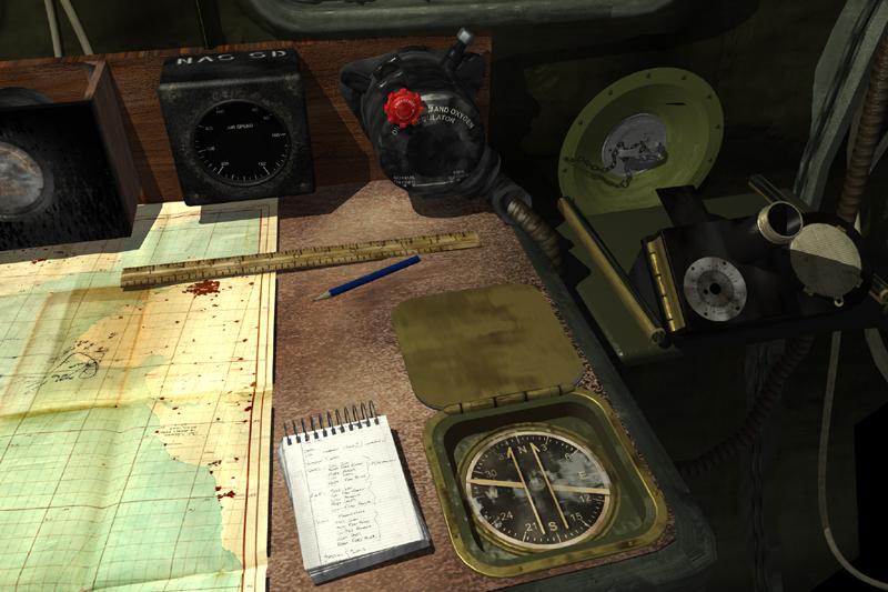 B 17 Navigator instruments