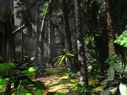moody jungle