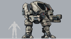 Mech Front posed ortho 02