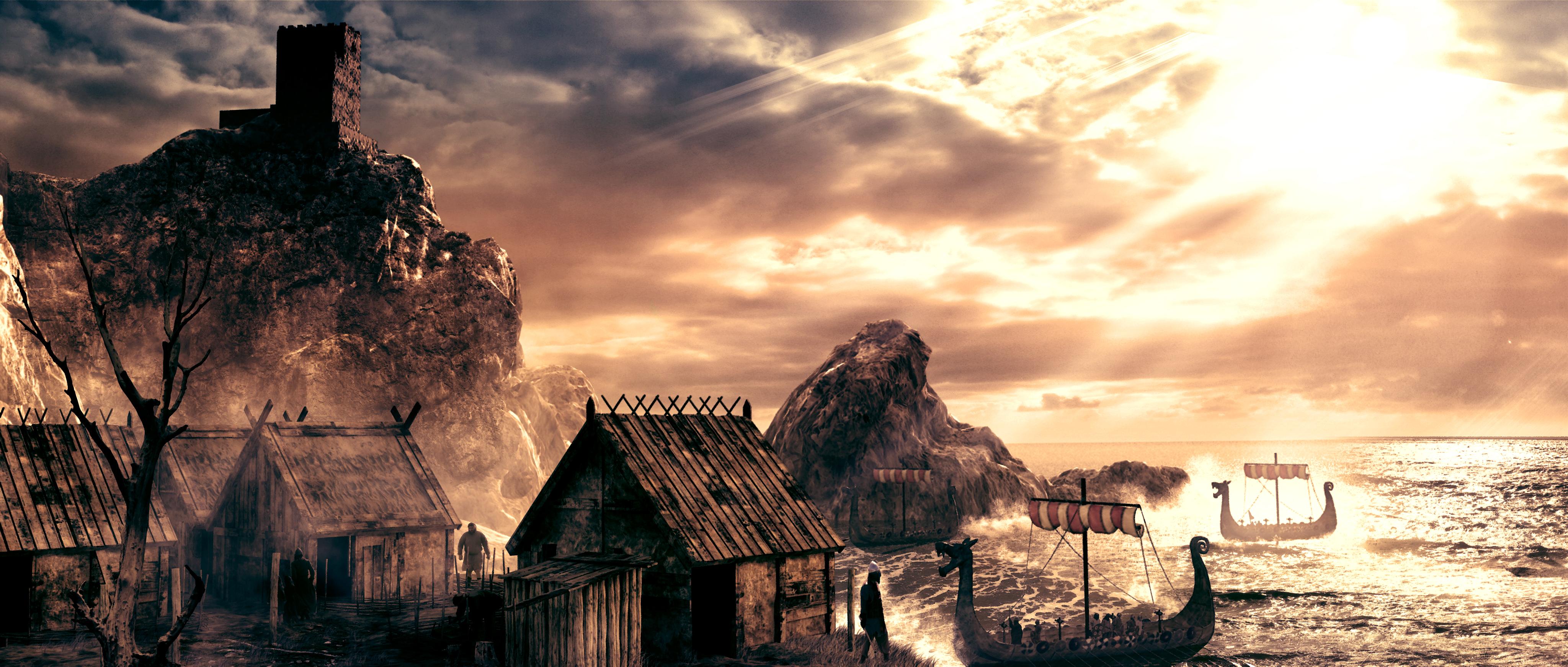 Highlander_Viking_Coastal_Village