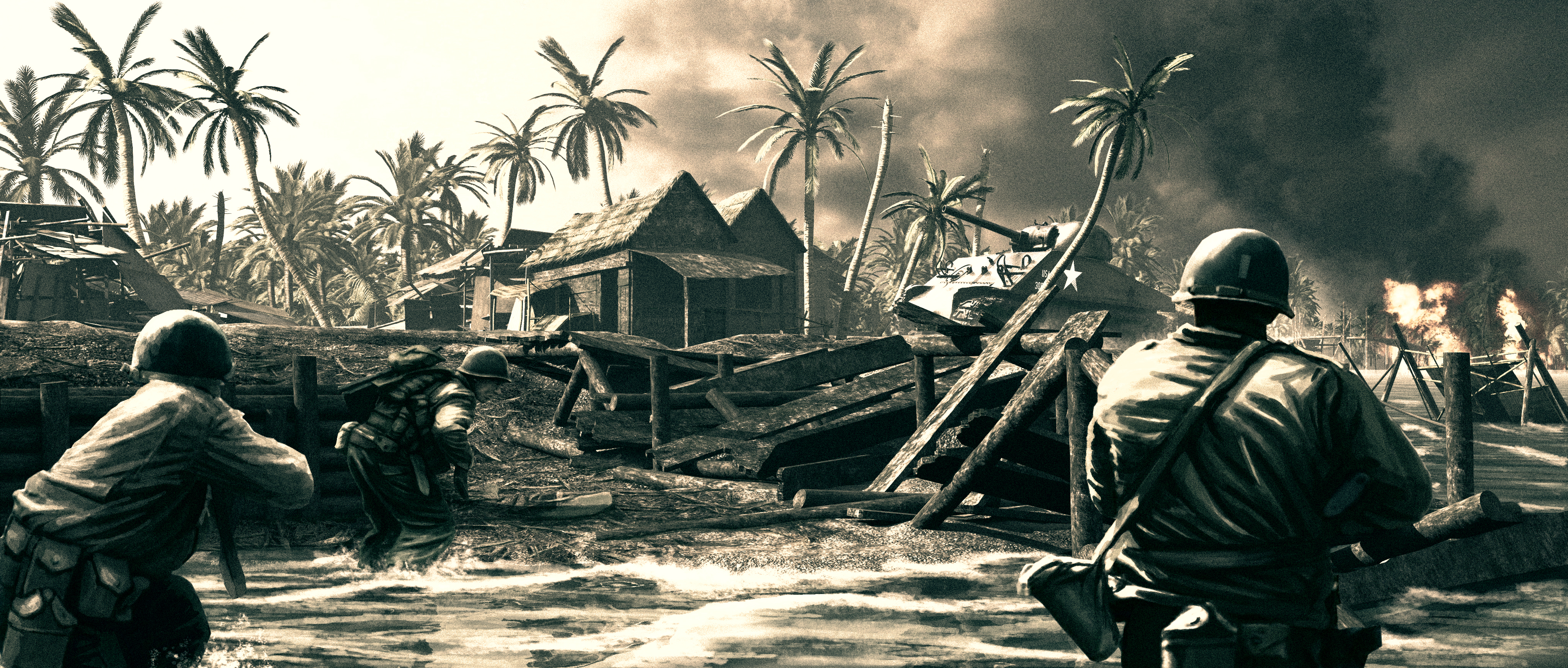 Highlander_WW2_Manila_Beach_Assault