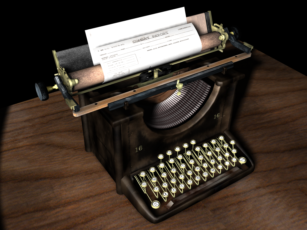 Period Typewriter