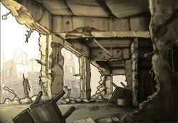 City Destroyed Interior Concept