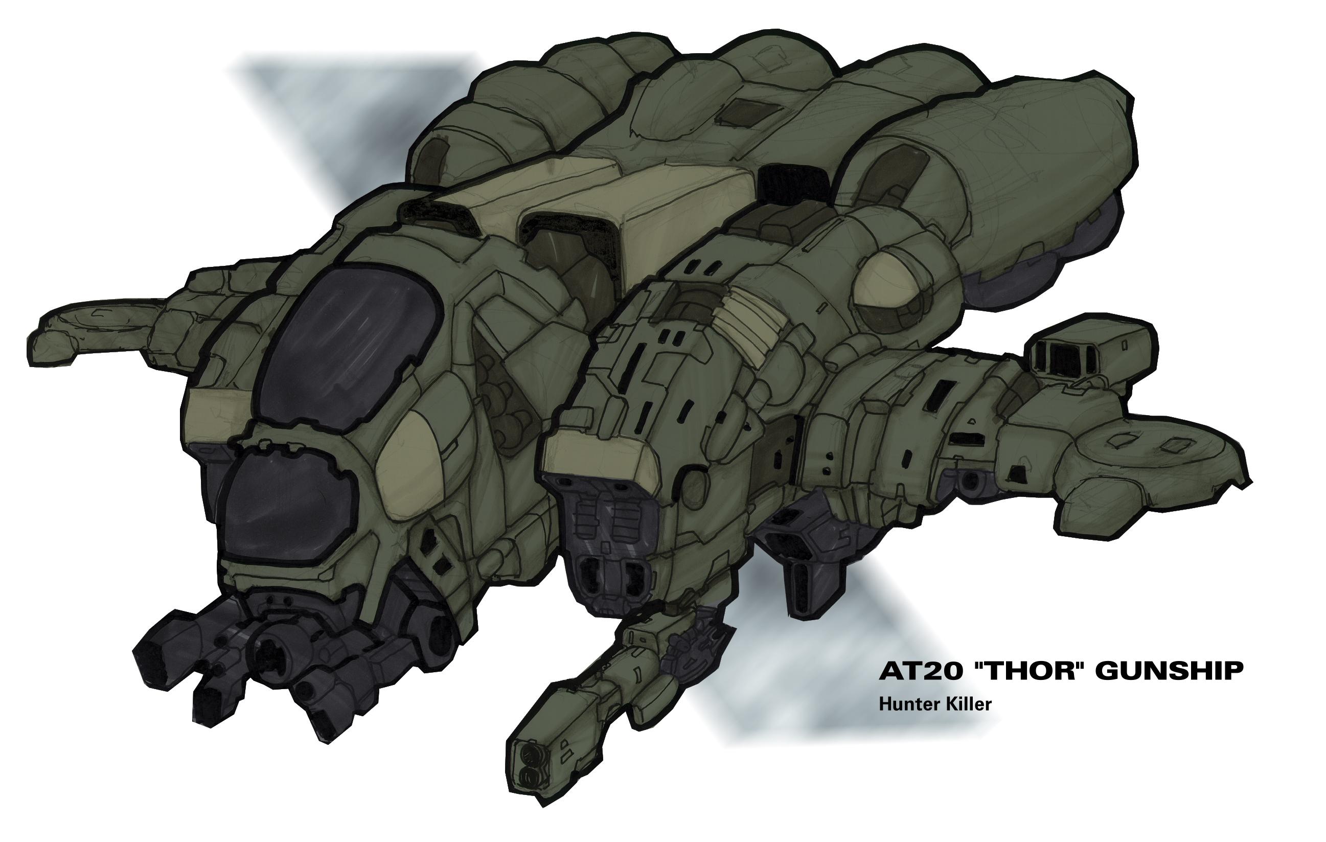 AT20 Thor gunship2